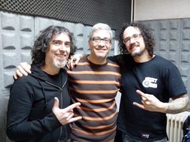 Alex, Carlos y Dani